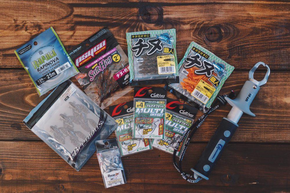 夏に向けてチヌを釣るためのルアーたちを買いました