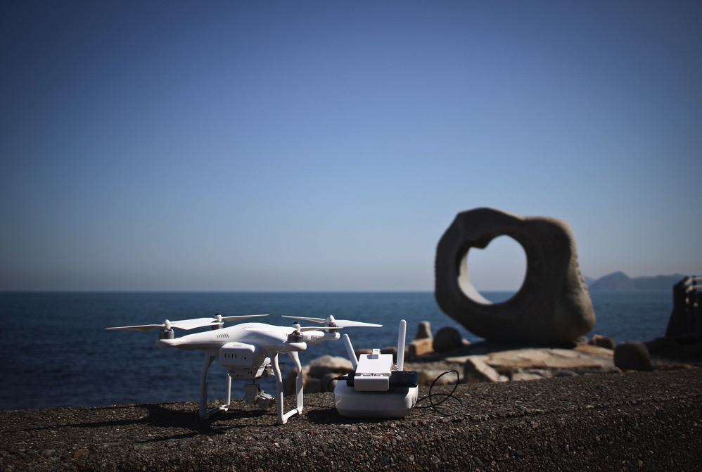 四国の最東端「かもだ岬」で空撮