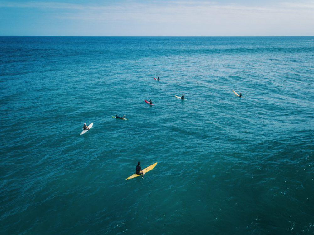 【サーフィン空撮】The Secret Reef Surfing @JAPAN【Big Up!!】