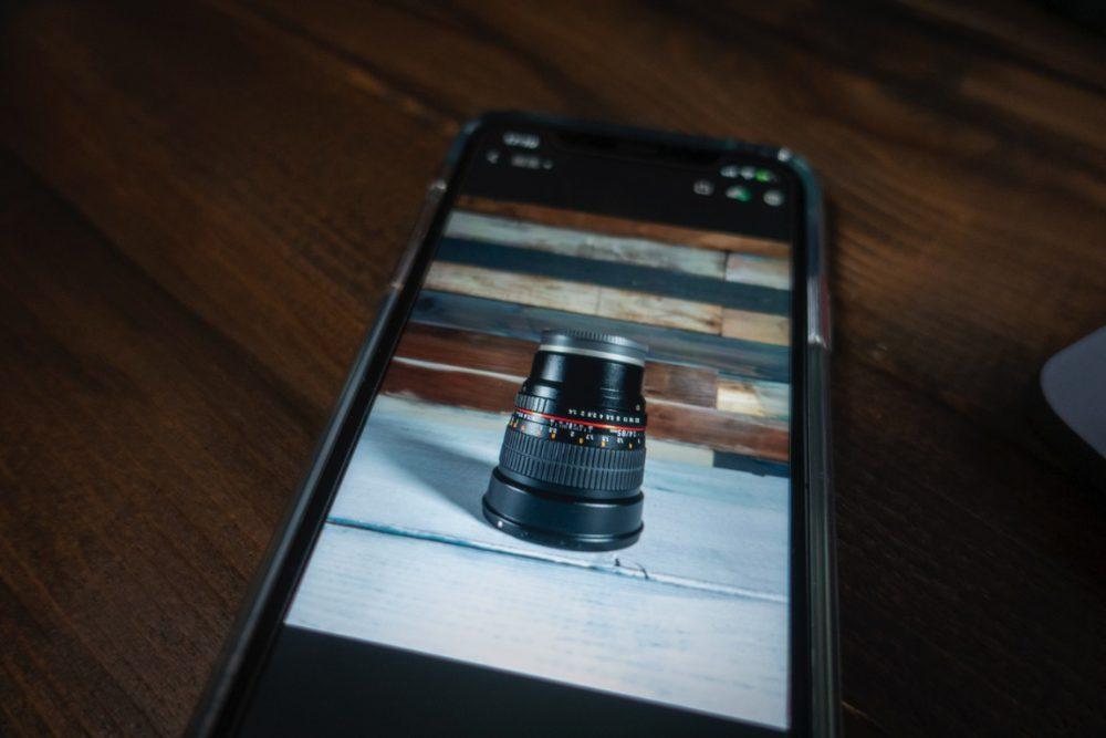 iPhoneでRawが撮れるようになってたって知らなかったからLightroomで現像!