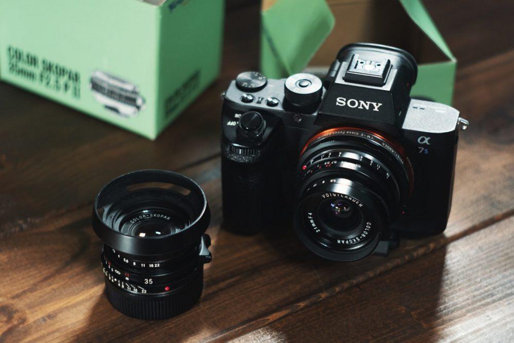 VoightLander単焦点 COLOR-SKOPAR 35mm F2.5を購入&サクッと試し撮り!