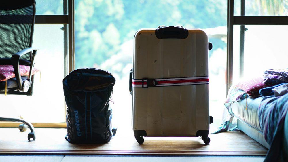海外撮影のための荷物のパッキングをしました。