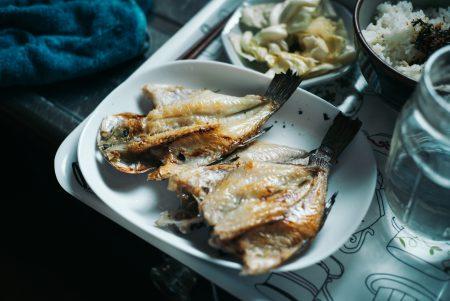 【干物ネット】大量に釣ったメバルはお裾分けと干物に