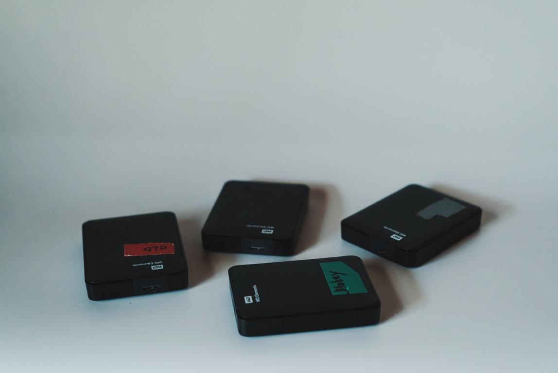 WD ポータブルハードディスク3TB