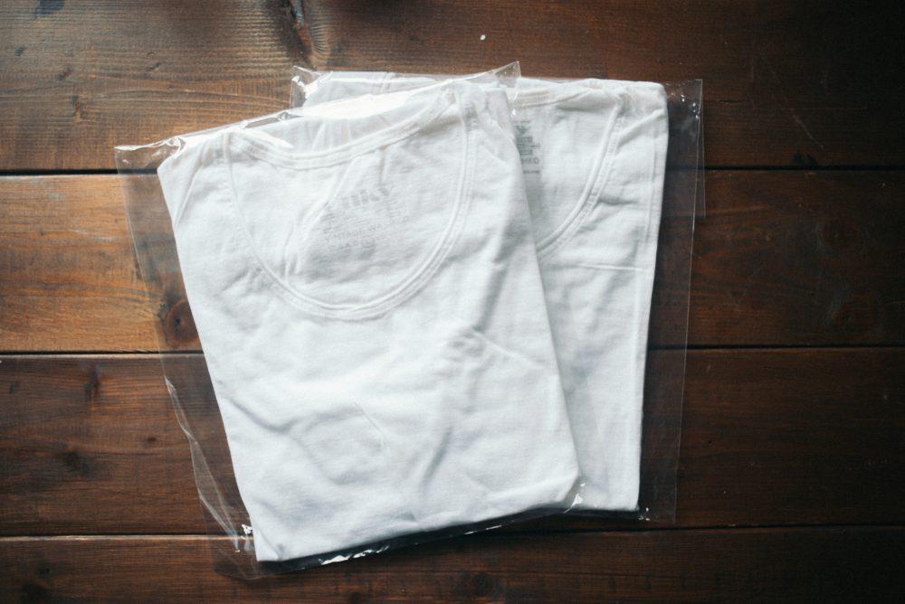 毎日着ているTシャツ タイ産の『OUKY』