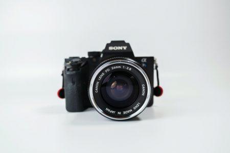 キャノンの広角オールドレンズの試し撮り【Canon FD24mm F2.8】