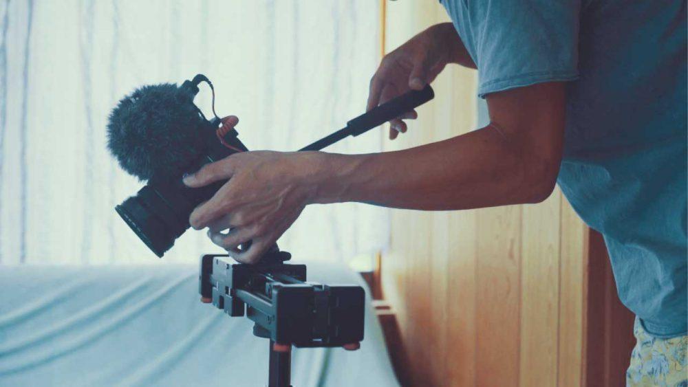 カメラスライダーを使って撮るとこんな感じに撮れるYouTube動画をアップ!