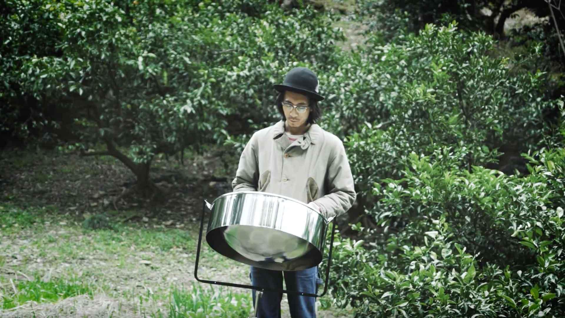 スティールパンのソロ演奏を撮ってみました。