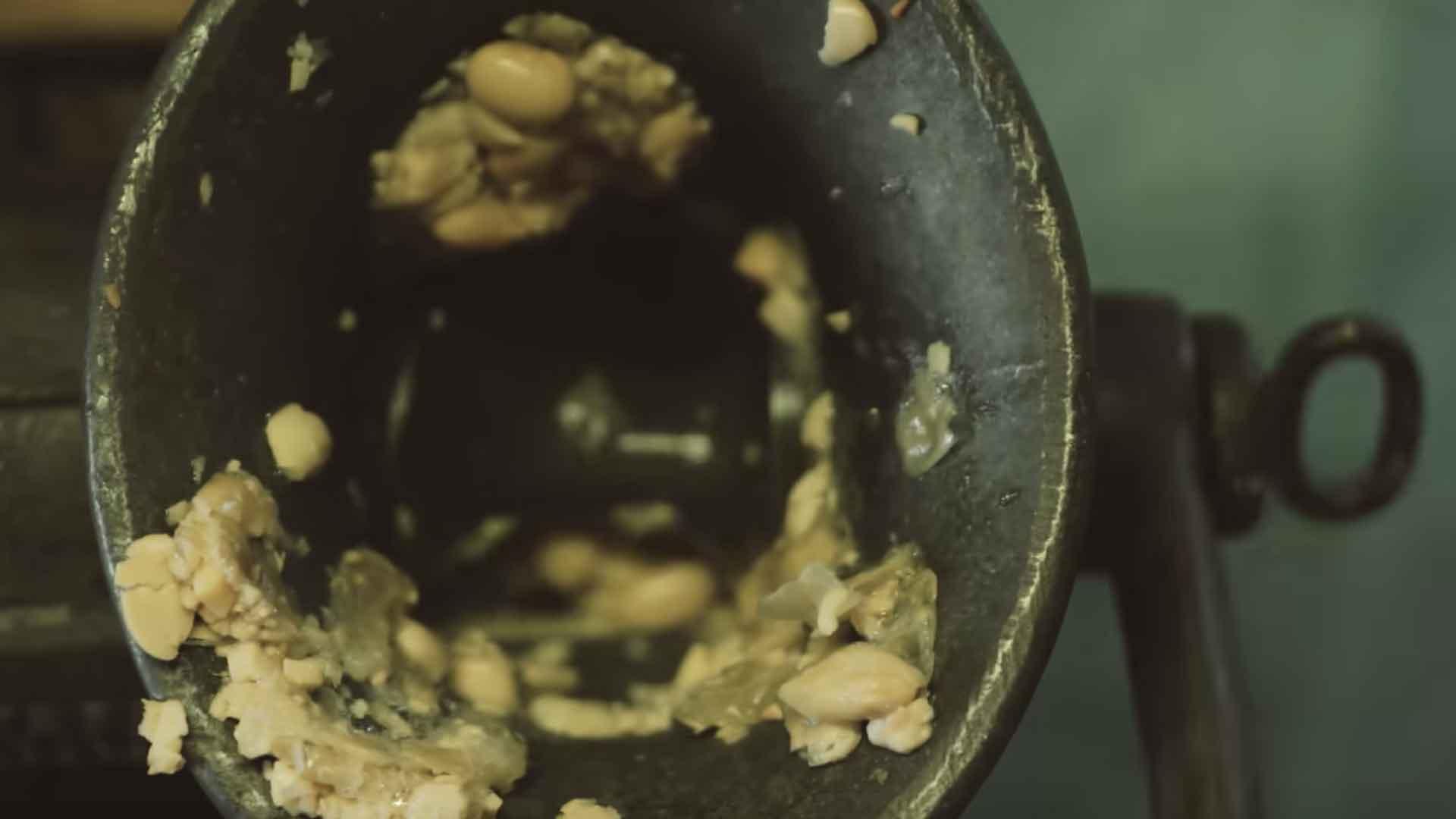 味噌作った時の映像