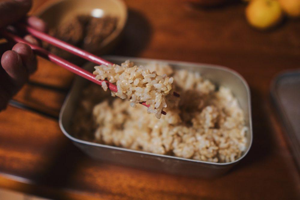【アウトドア】メスティンで玄米は炊けるのか?